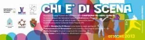 Stampa inviti pubblicitari Giulianova Compagnia teatrale dei Merli Bianchi