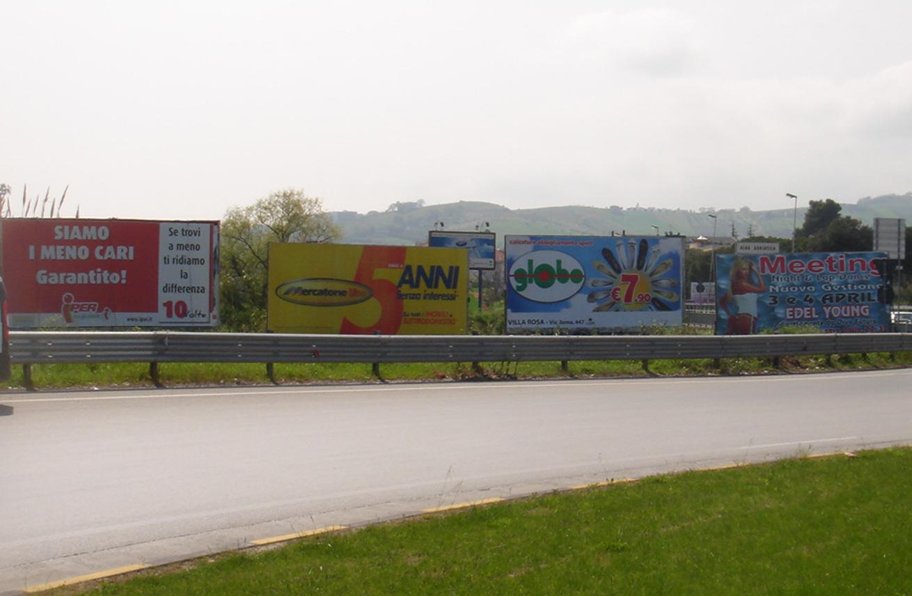 Cartellonistica pubblicitaria Teramo - Cartelloni e spazi pubblicitari esterni a Giulianova