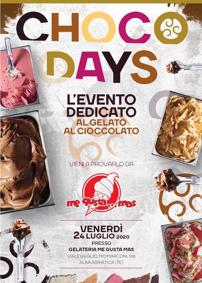 Chocoday - Giornata dedicata al gelato al cioccolato da Me Gusta Mas di Alba Adriatica