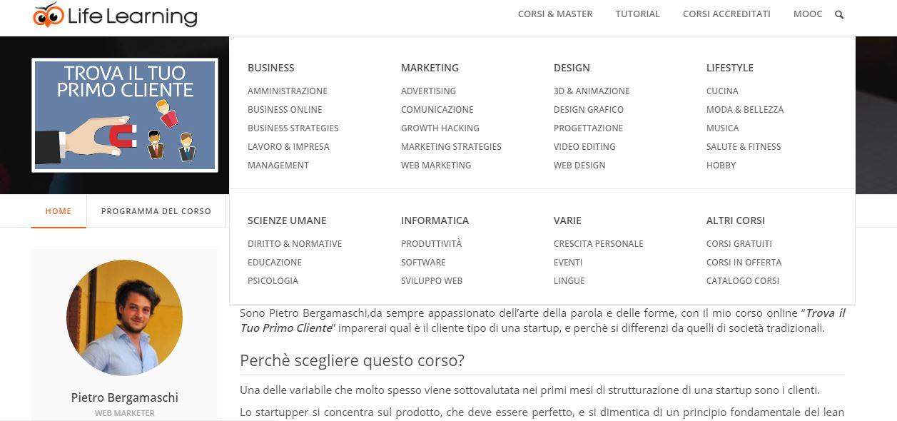 Corso Marketing per Startup - Giulianova Teramo