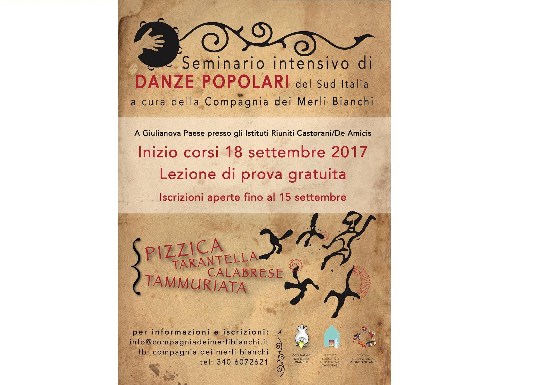 Danze popolari, dal 18 settembre a Giulianova