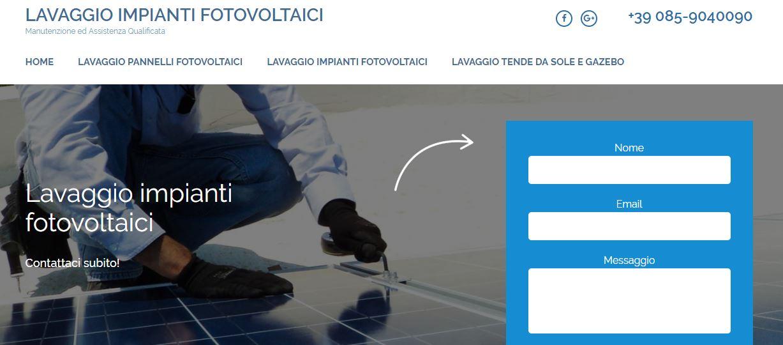 Lavaggio Pannelli Solari Fotovoltaici Abruzzo Lazio Marche