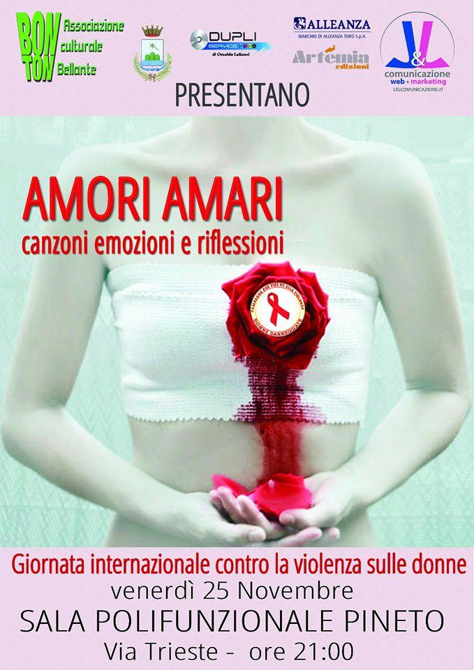 Pineto - Giornata Internazionale contro la violenza 25 Novembre