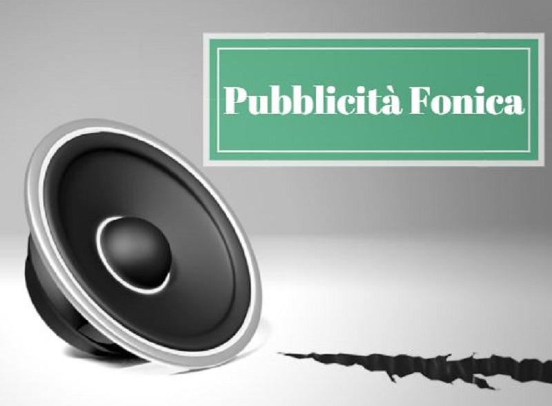 Pubblicità sonora fonica mobile Teramo Giulianova