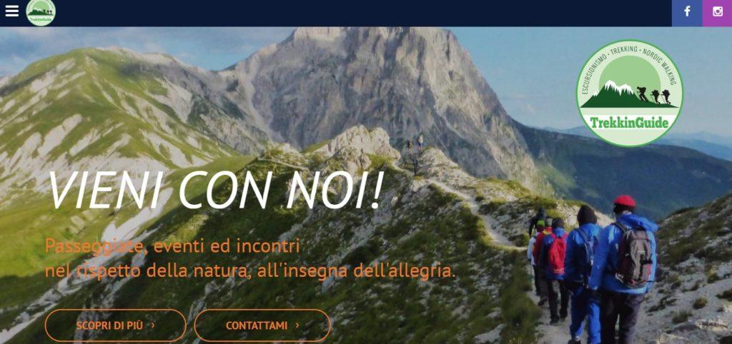 Realizzazione Sito Web a Teramo - Il caso Trekkinguide