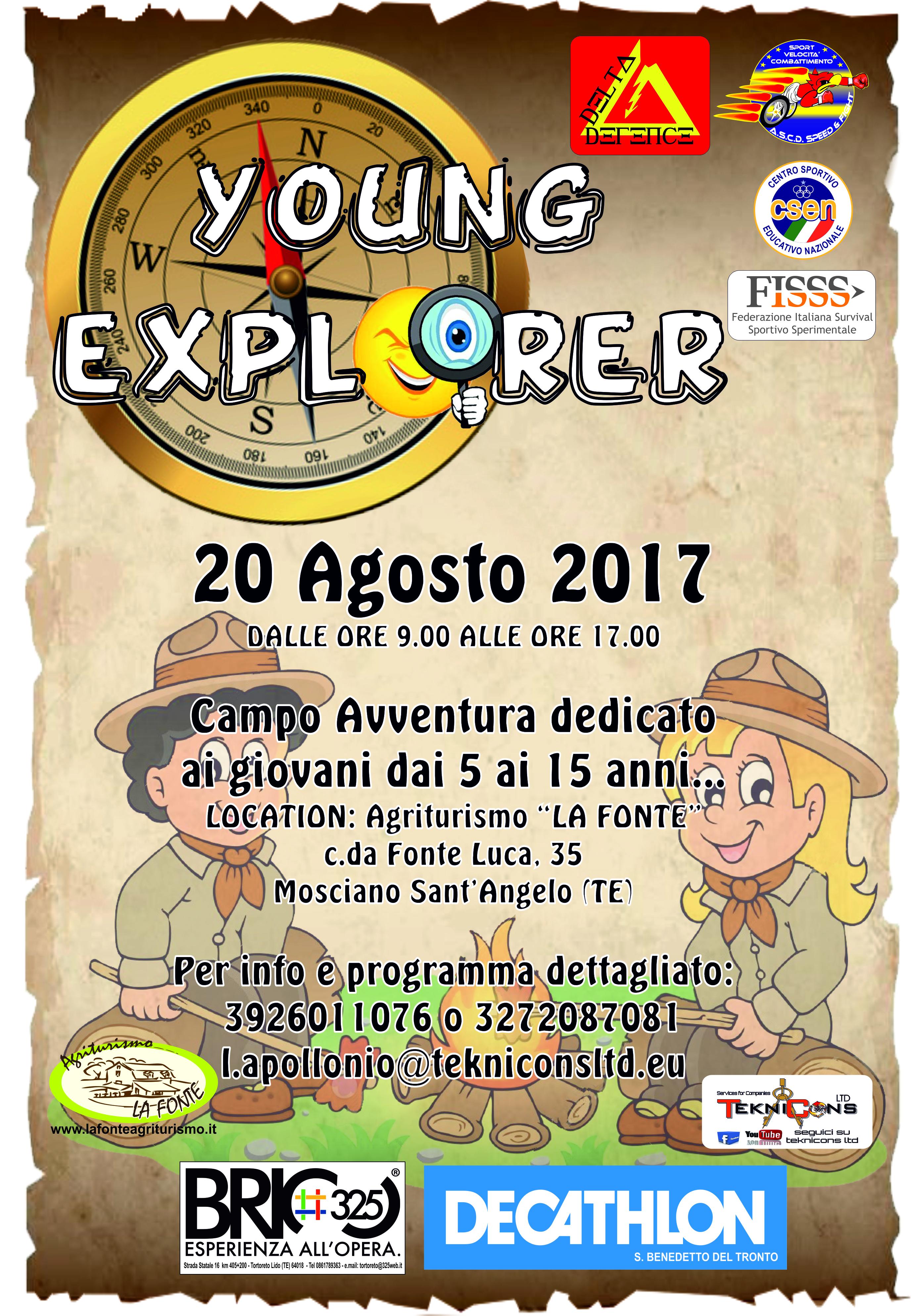 Teramo, Corso per YOUNG EXPLORER e DIFESA PERSONALE