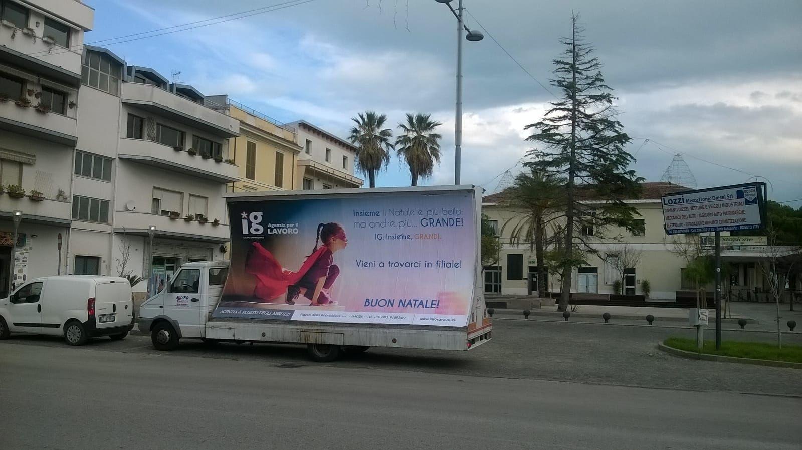 Vela pubblicitaria Giulianova