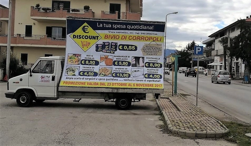 vela pubblicitaria Pescara