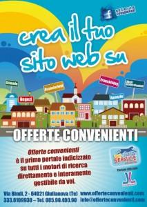 Volantino pubblicitario Giulianova Teramo - Offerte convenienti portale web